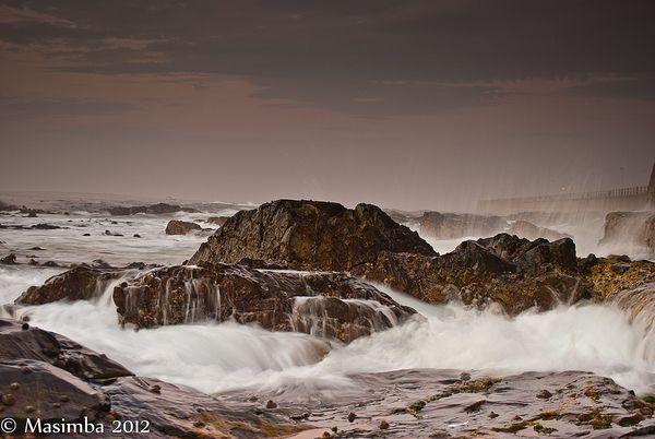 Sea Meets Land II by Masimba Madondo, via Behance