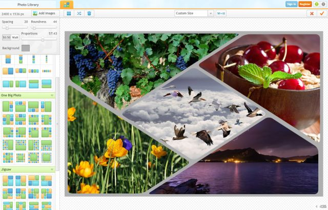 Create a Custom Collage With These Free Photo Collage Makers: iPiccy