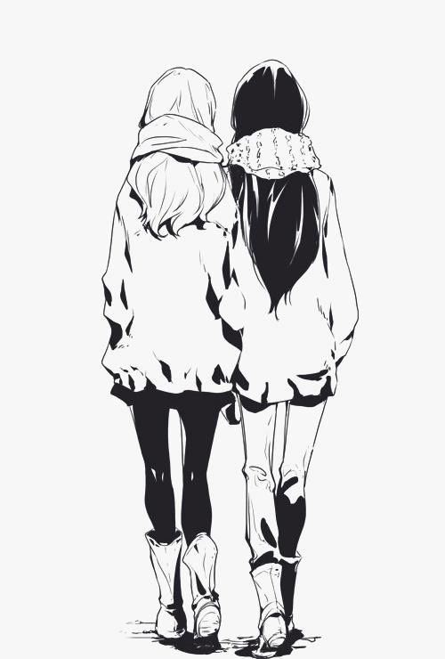 I'm not being mean but this is me and my friend when she gets taller but I'll still be a little bit taller than her xD but I love my friends never want to let them go no matter what even if I or they move they will still be with me ❤️ now I just made myself cry