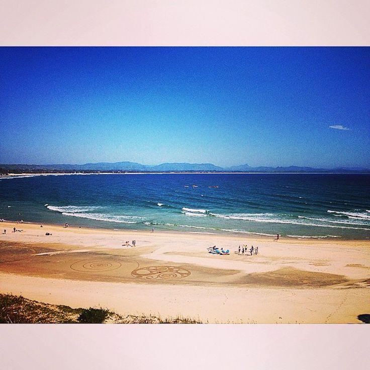 Clarkes Beach. Instagram: byronbayyogi