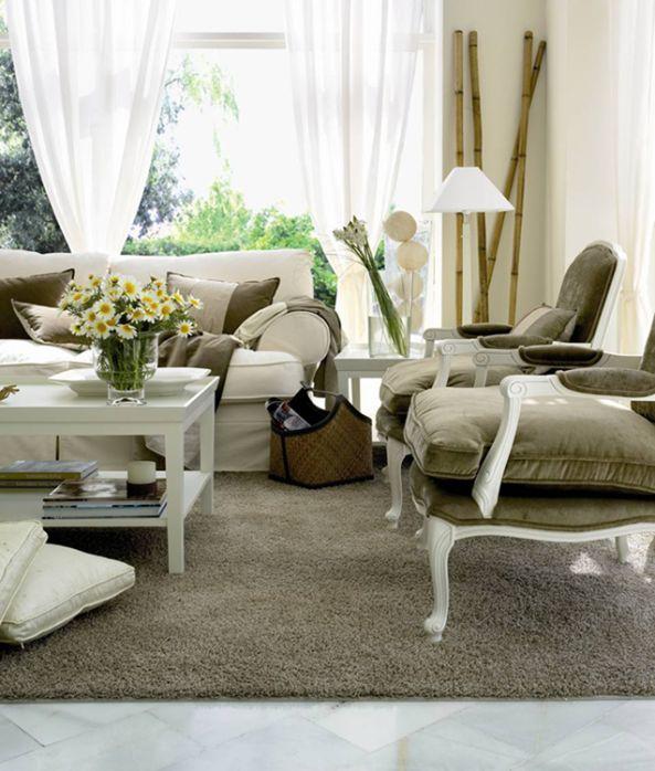 17 mejores im genes sobre decora en pinterest sof s - Salon clasico moderno ...