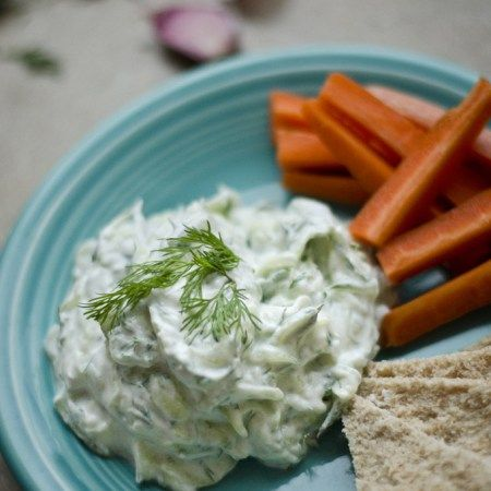 This is the best tzatziki recipe! Refreshing cucumber, creamy Greek yogurt, and zingy lemon make it the perfect condiment for just about everything.