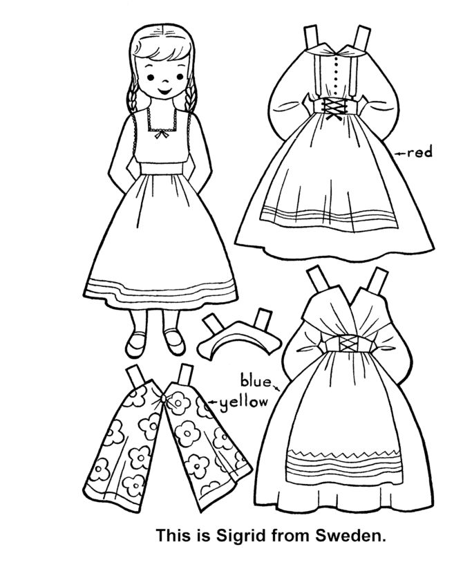 children of the world paper dolls free art camp creative girls pinterest dolls and child. Black Bedroom Furniture Sets. Home Design Ideas