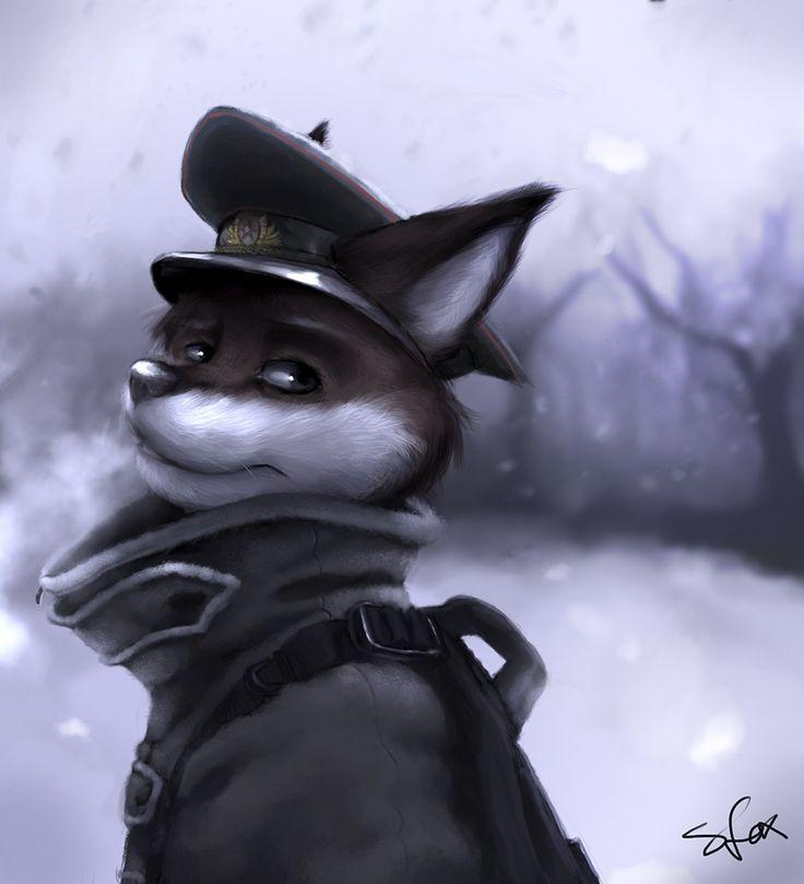 Vintertid by strangefox Furry art, Furry, Furry fan
