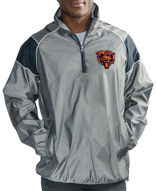 2c9099475f2 Chicago Bears Fade Player Lightweight Pullover Jacket  ChicagoBears  Bears   DaBears