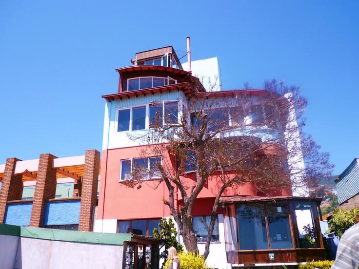 La Sebastiana, una de las casas de Neruda. Valparaíso Chile