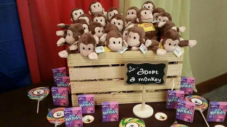 Adopt a monkey #curiousgeorge#jd1stbdaytheme