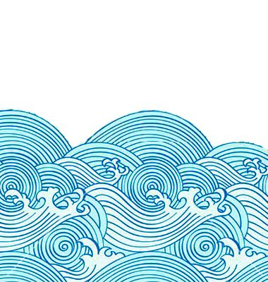 Wave pattern redone - reminds me of earthsea