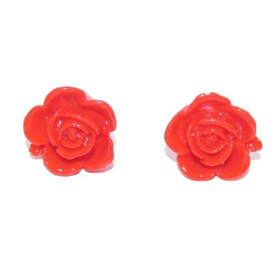 Resin roses