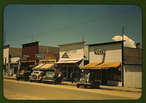 On main street of Cascade, Idaho ... (LOC)   Flickr - Photo Sharing!
