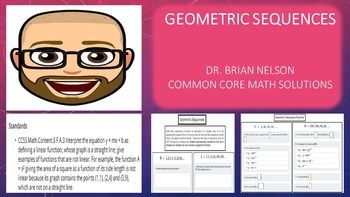 In+this+geometric+sequence+lesson+students+will:1)++Recognize+geometric+patterns+in+numeric+sequences.2)++Calculate+the+nth+term+of+a+geometric+sequence.3)++Demonstrate+continued+understanding+of+skills+and+concepts+by+applying+previous+learning+to+sample+problems.