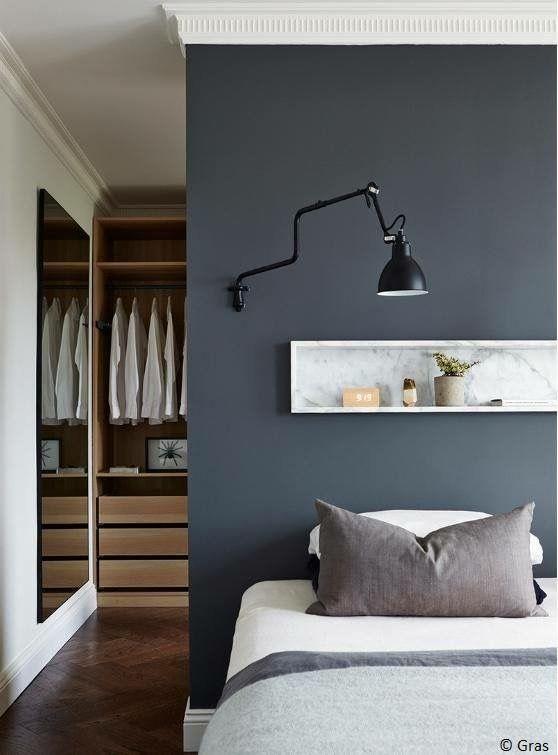 Makuuhuoneen tilanjakoa #netrautalikes #makuuhuone #säilytys