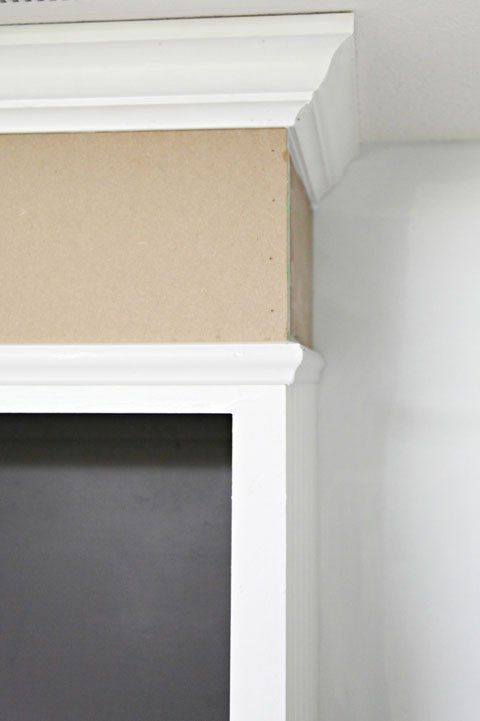hiding that space above the kitchen cabinets. A tutorial: http://iheartorganizing.blogspot.com/2013/05/studio-progress-major-cabinet-upgrades.html