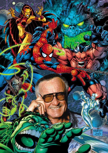 Stan Lee - American comic book writer, editor, actor, producer, publisher, television personality, and the former president and chairman of Marvel Comics. Co-created Spider-Man, the Hulk, the X-Men, the Fantastic Four, Iron Man, Thor, and many other fictional characters