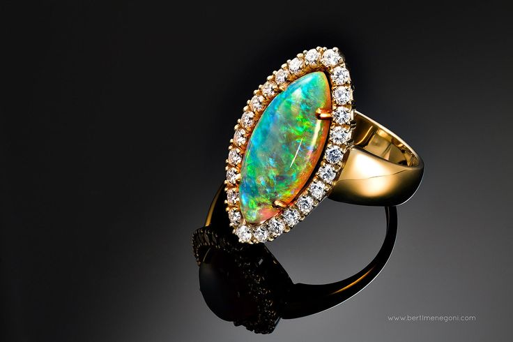 Photograph Jewelry Photography Opal Ring by Bertl Menegoni on 500px