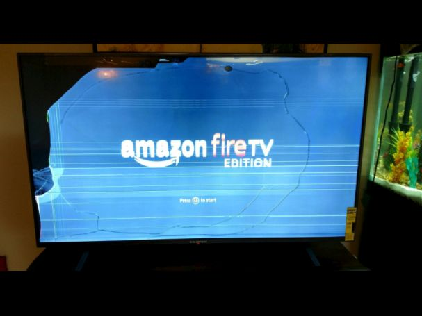 "Amazon shipped broken TVs to some people who bought its best TV deal on Prime Day (AMZN) - Amazon's first foray into smart TVs seems to have been one of Prime Day's hottest sellers.  The ecommerce giant said its 55-inch Amazon Fire TV Edition — which is built by affordable TV brand Element but runs Amazon's Prime-friendly Fire TV interface — was the beneficiary of ""the best-selling TV deal in Amazon history.""  The TV typically goes for $650, but was temporarily slashed to $400 on Prime Day…"