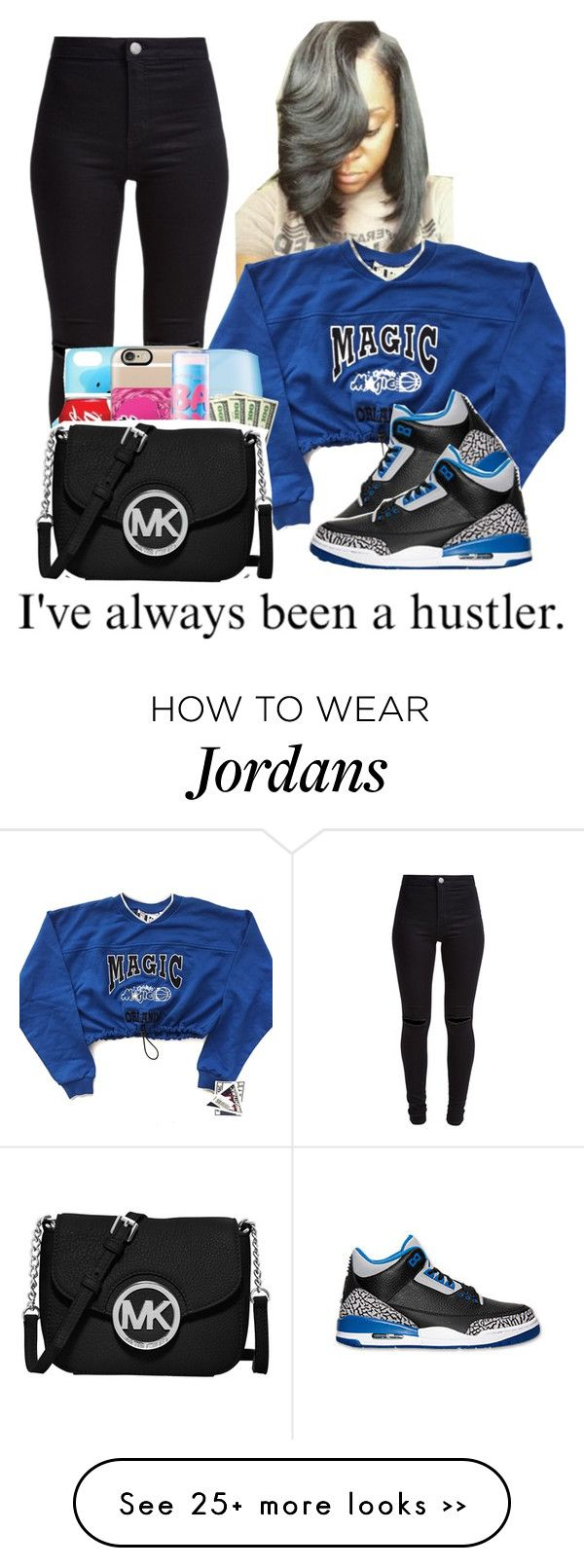 """..."" by aribearie on Polyvore featuring New Look and MICHAEL Michael Kors"