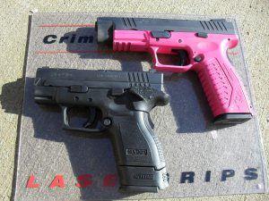 The pink gun debate