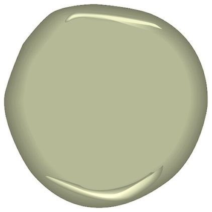 Benjamin Moore Ben Paint, Peale Green HC-121 - $35.95 »  This dark hue sits between olive and sage.