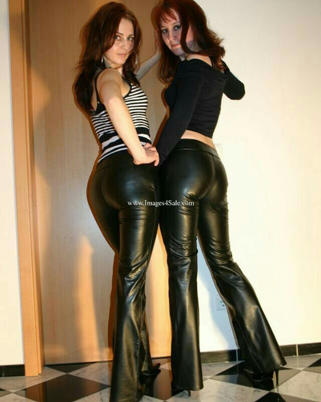 Amateurs in leather pictures