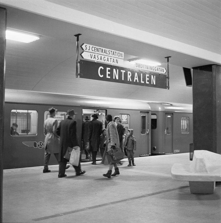 Centralen (nuvarande T-Centralen) - Stockholmskällan