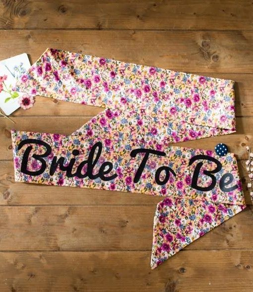 One of our favourite hen party sashes. This handmade beauty is perfect for…