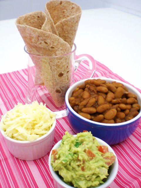 Tortillas Mexicanas com Rap10 e Chili Vegetariano | Figos & Funghis