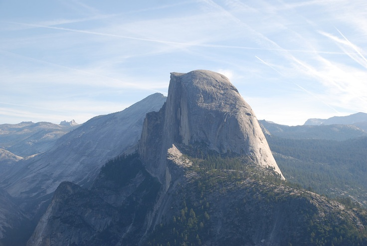 Half Dome.   Visited Yosemite in september 2011. No need to be a professional with the camera when the nature is like this.