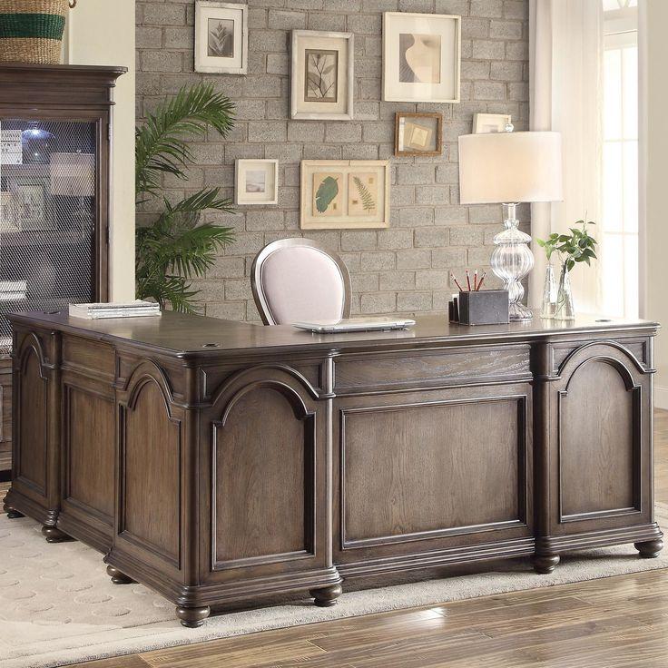 Riverside Belmeade L-Shape Executive Desk