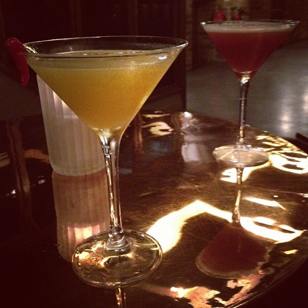 Chilli and Mango Martini from Dirty Martini in Hanover Sq (nr Oxford Circus).  Perfect way to round off a busy day of shopping at #RegentTweet 2012.
