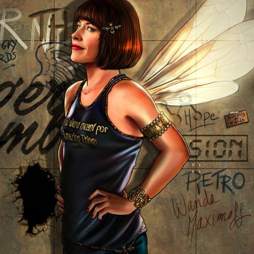 "The Avengers and Their Favorite T-Shirts Series: Hope Van Dyne - Deviant Artist ""Petite-Madame"""