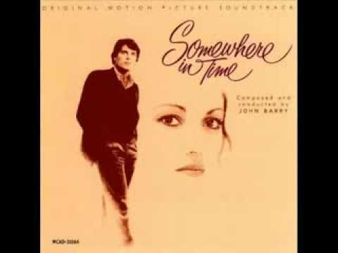 """Rachmaninoff's """"Rhapsody on a Theme of Paganini"""" from """"Somewhere in Time"""" sound track.  This music transports me."""