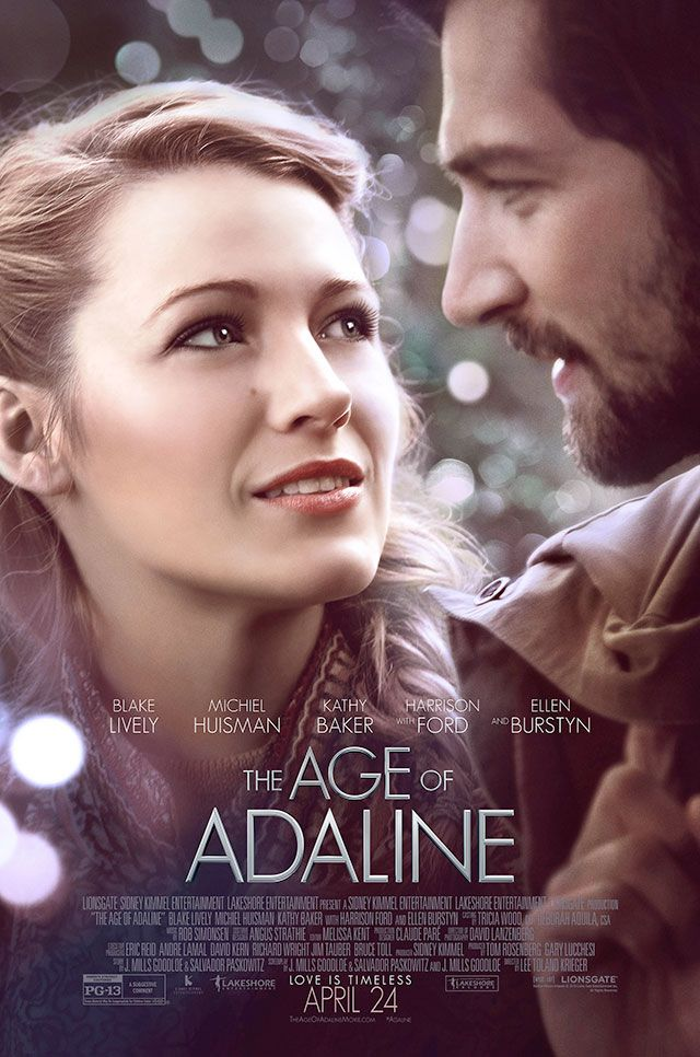 Blake Lively and Michiel Huisman in the final poster for THE AGE OF ADALINE