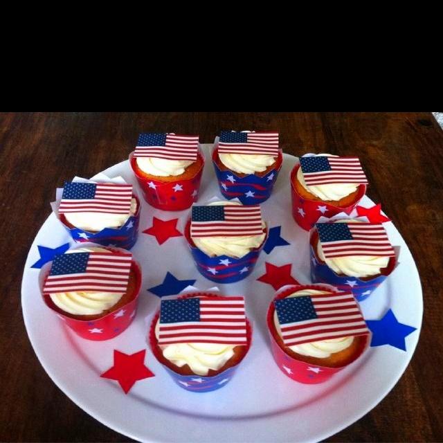 Cupcakes Amerika