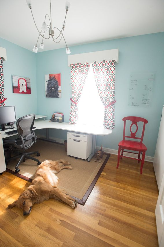Most of you will probably never see my new home office so how about a  little virtual tour?