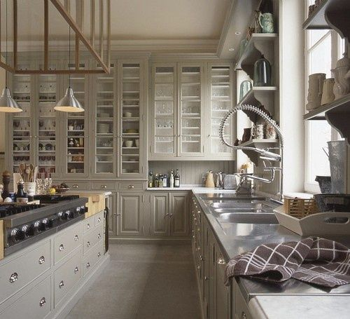 10+ Images About Beautiful Non-White Kitchens On Pinterest