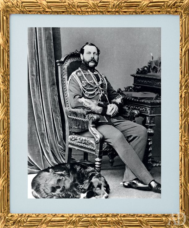 Владелец Фермерского дворца император Александр II (1818-1881).