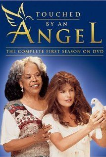 TOUCHED BY AN ANGEL - 9 seasons - (1994-2003) Monica, Tess, and Andrew are a trio of angels sent to earth to tell depressed and troubled people that God loves them and God hasn't forgotten them.
