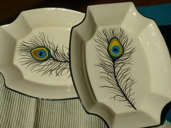painting on ceramic idea for coffee mugs!