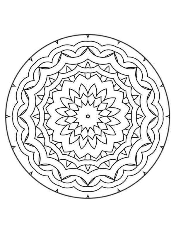 174 best doodling mandala images on pinterest adult. Black Bedroom Furniture Sets. Home Design Ideas