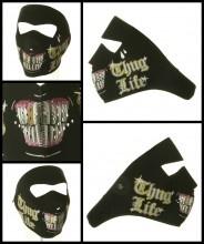 Thug Life Neoprene Face Mask Front