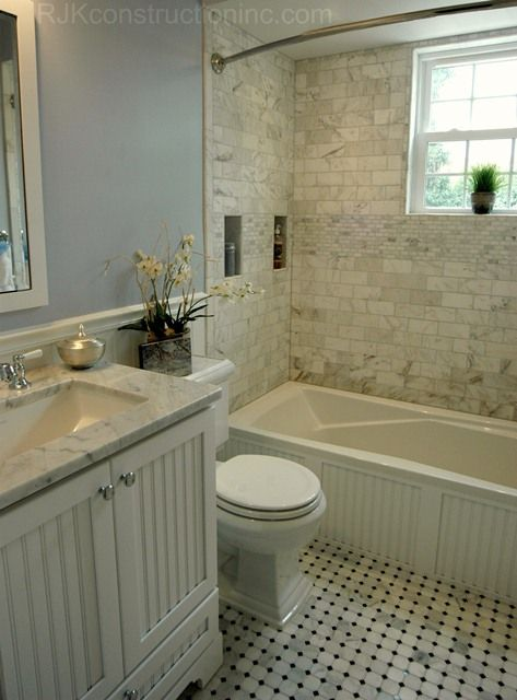 Cape Code Bathroom, I adore this for girls bathroom, w/out shacked style-NO dating!  Colors r gorgeous!  It's it-double sink!  Yay!