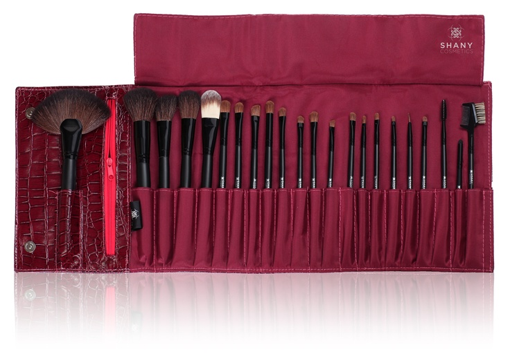 NY Collection 22PC Pro Brush Set with Purple Case