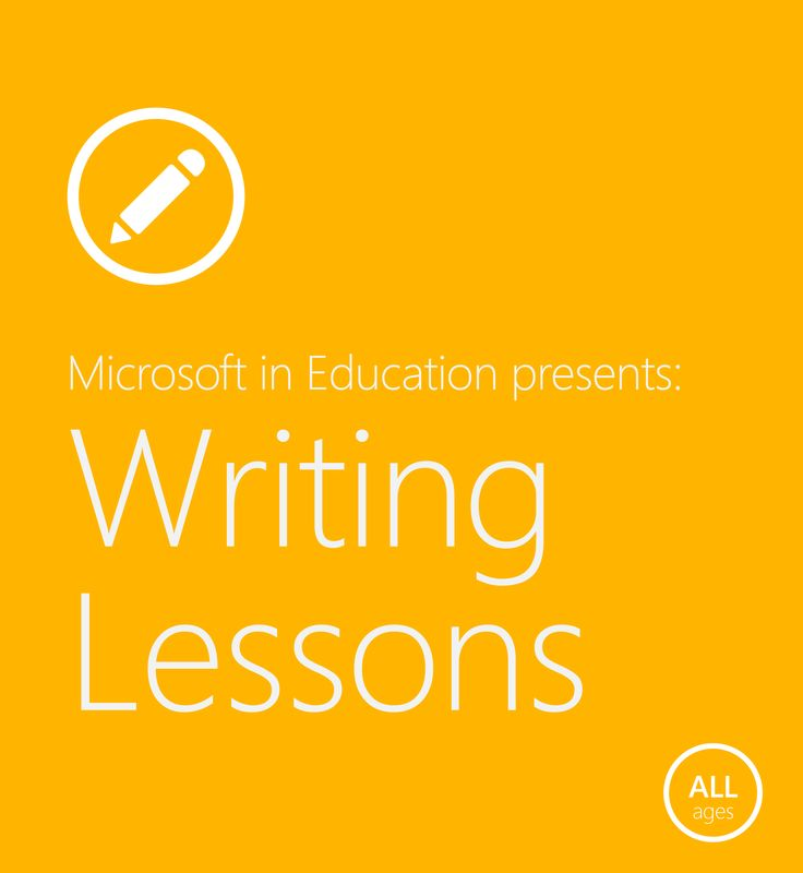 Handwriting, poetry, storytelling — with a wide range of lessons in this resource, you're sure to find the perfect one to inspire your students' love for the written language. #MSFTEDU
