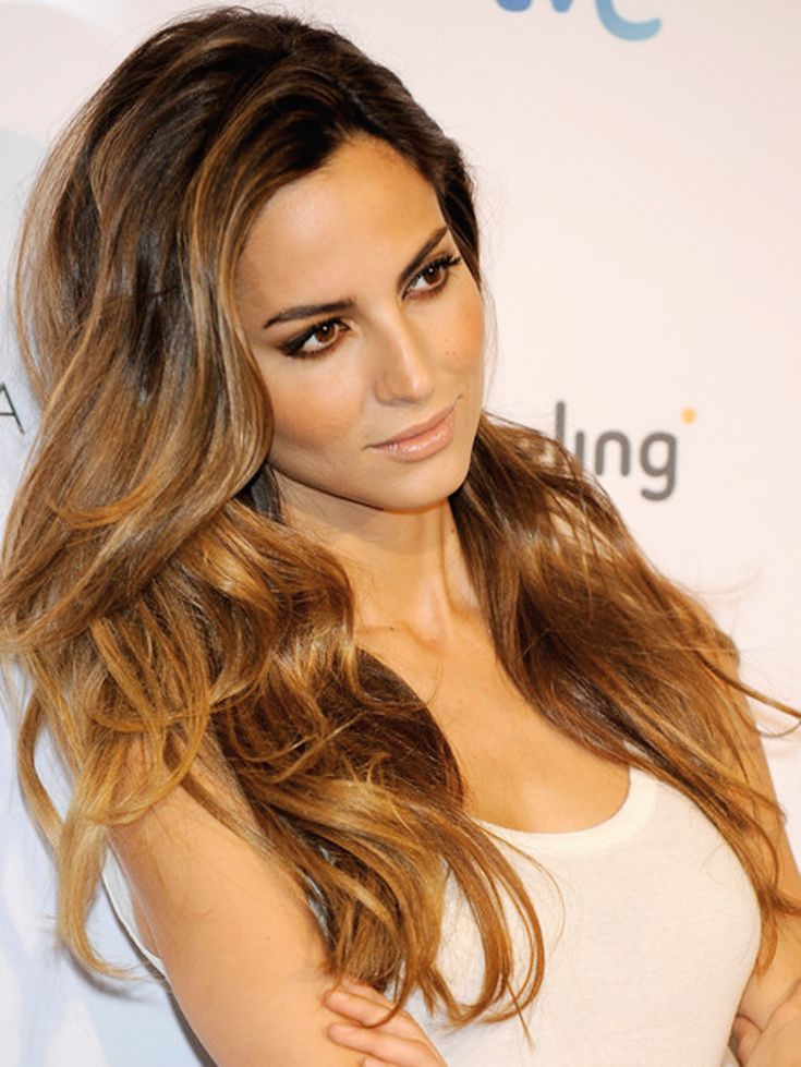 My next dye will be something like this! Perfect caramel color. Melting/ombre. Britpaige.com