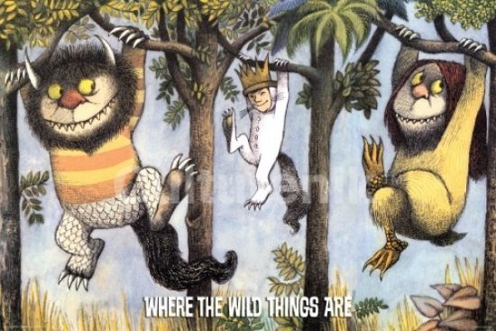 Where The Wild Things Are Hanging From Trees Poster Print (36 X 24) - Item # IMPST5121R - Posterazzi