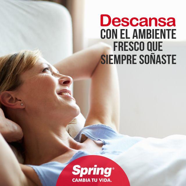 """Nuestra tecnología """"cooler"""" permite que tu colchón siempre se mantenga fresco #descanso #frescura #bienestar #buenasnoches"""