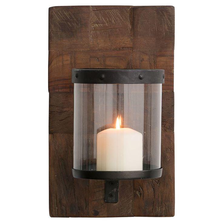 Wandkerzenhalter Holz Jetzt bestellen unter: https://moebel.ladendirekt.de/dekoration/kerzen-und-kerzenstaender/kerzenstaender/?uid=263ee618-2d89-54b3-a513-c64a95e72abb&utm_source=pinterest&utm_medium=pin&utm_campaign=boards #kerzen #kerzenstaender #kerzenständer #windlichter #dekoration