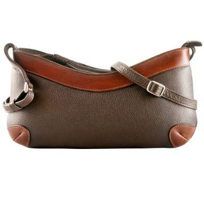 $139 @ derekalexanderleather.ca. Hudson's Bay, $69.5, reg139. Extra 25% off = $52.12.  https://www.derekalexanderleather.ca/product/ew-slim-shoulder-bag-2/ Style: CD904 EW Slim Shoulder Bag, in brown/brandy.