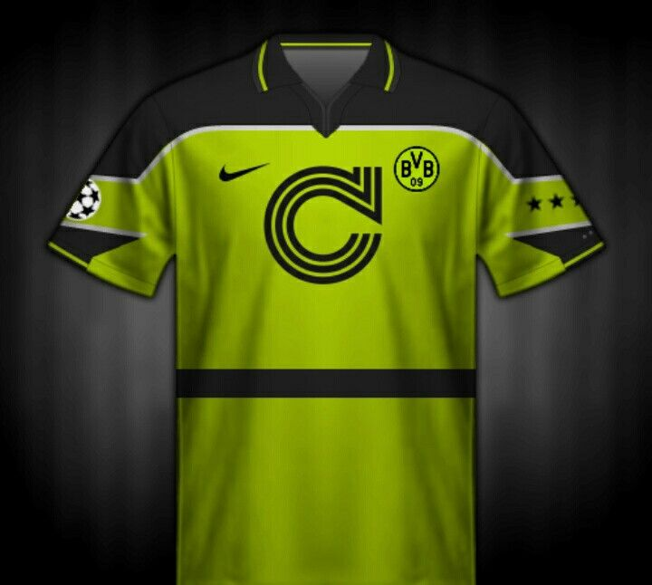Borussia Dortmund shirt for the 1997 Champions League Final.